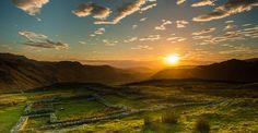Hardknott Roman Fort - Hardknott Pass - Eskdale ... | Lake District Calendar