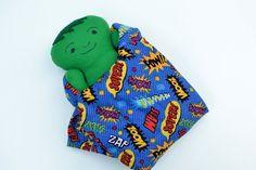 blueSusan makes: Meet Baby Hulk. Nova just may explode if she sees this.