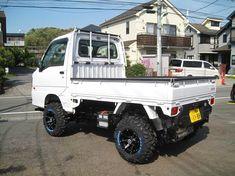Small Trucks, Mini Trucks, Small Cars, Pickup Trucks, Mini 4x4, Homemade Go Kart, Suzuki Carry, Kei Car, Little Truck