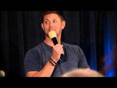 The part about Rapunzel and then about Jensen's dad's accent is just priceless. <3 #SupernaturalCast