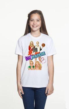 Brand New T-shirt Disney Liv and Maddie TV Show