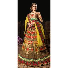 "http://www.thatsend.com/shopping/lp/fvp/TESG25868/i/TE39142/iu/beige-net-bridal-lehanga-choli  Beige Net Bridal Lehanga Choli Apparel Pattern Embroidered. Occasion Wedding. Work Heavy Embroidery. Bottom Color Beige. Bottom Length 44""."