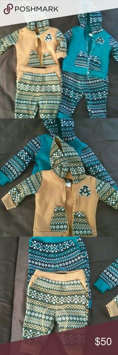 Sweat outfits Fleece hoodie and sweat pants Akademiks Matching Sets