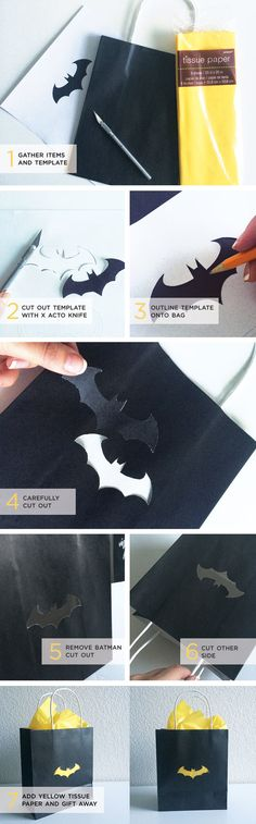 DIY Batman Gift Bag — My Everyday Lifestyle