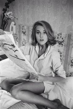 Jane Fonda being perfect.