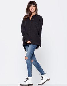 Camisa fluida - ��Xmas gifts - Mujer - PULL&BEAR España