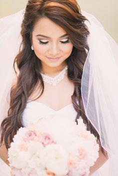 Gorgeous bridal look. Photo by Honey Honey Photography. www.wedsociety.com #weddings #bride #inspiration
