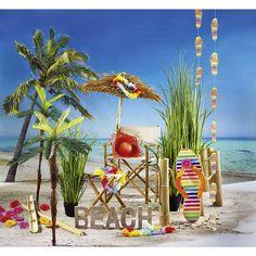 #Sommer! Mit dieser schönen #Sommerdekoration holen Sie sich Sommerfeeling ins #Schaufenster https://www.decowoerner.com/de/Saison-Deko-10715/Sommer-10744/Komplette-Dekoideen-Sommer-11325/Dekoidee-Beach-653.503.00.html