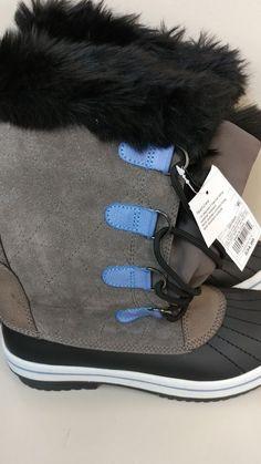 Snow Hiking Boots Pink Pom Poms New L@@k Rich And Magnificent Khombu Boots Shoes Sz Size 6 Rain