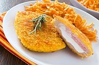 Cordon Bleu de Pollo Te enseñamos a cocinar recetas fáciles cómo la receta de Cordon Bleu de Pollo y muchas otras recetas de cocina.