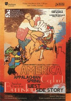Duos America concert poster