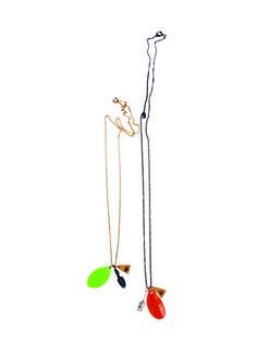 Lucy Folk presents BENTO - Resort 12/13 - JASMINE GREEN TEA NECKLACES