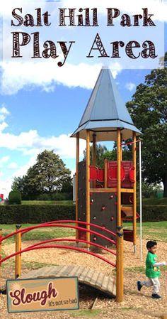 Salt Hill Park Play Area : Slough - it's not so bad