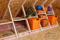 'TIS THE (ATTIC) SEASON. The mornings are getting cooler, and autumn will soon be upon us! And what does autumn mean? ATTIC SEASON. Get organized now so you can enjoy holiday decorating.