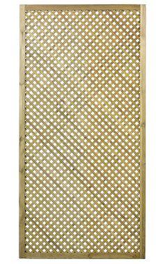 Celosía de madera Clematite 90 x 180 cm Ref. 15627731 - Leroy Merlin