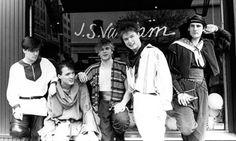 Spandau Ballet: John Keeble, Martin Kemp, Steve Norman, Gary Kemp, and Tony Hadley.
