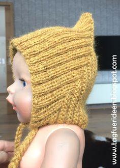 Schalmütze Stricken Für Babys Kostenlose Anleitung Für Anfänger