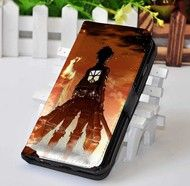 Attack on Titan 1 | Manga Series | Custom wallet case for iphone 4,4s,5,5s,5c,6 and samsung galaxy s3,s4,s5