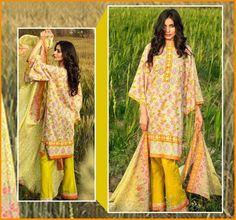 Phulkari Luxury Summer dresses Collection 2016 By Taana Baana    #Phulkari #TaanaBaana #LawnCollection #Dresses #PakistaniLawn #PakistaniDresses