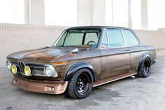 Julian Bednorz& Rat Rod Applying paint, patina and wood stain to unique effect, Julian Bednorz turned his 2002 into an art project that's also fun to drive. on Bimmer, The Magazine About BMW Porsche, Audi, Volvo, Dodge, Bmw Vintage, Benz, Bavarian Motor Works, Bmw Love, Old School Cars