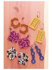 Crochet Earrings II Crochet Pattern - Electronic Download