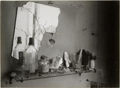 The bathroom mirror (by Brassaï)