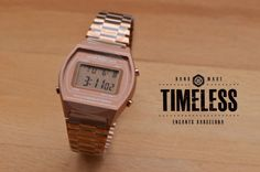 Casio  retro. Timele