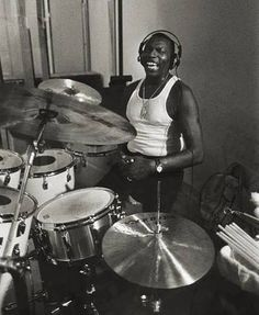 Elvin Jones (born: September 9, 1927, Pontiac, MI, USA - May 18, 2004, Englewood, NJ, USA) was an American jazz drummer. He worked as a sideman for Charles Mingus, Teddy Charles, Bud Powell and Miles Davis. From 1960 to 1966 he was a member of the John Coltrane quartet (along with Jimmy Garrison on bass and McCoy Tyner on piano. He appeared on the album A Love Supreme.