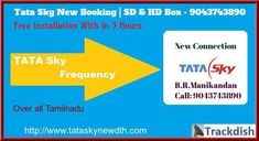 Call for Tata Sky New Connection at 9043743890 anytime. We deliver the products very fast to the customer place. A lot of facilities available in Tata Sky that is, Recharging with Budget plan, Recording option, Packages with their needs, Multi-Connection (1+3 Connection), after service also available. Connecting Tata Sky DTH | SD | HD |HD+ | 4K ULTRA Connection on home, get More than 600+ Channels Sky New, Budget Plan, Chennai, Sd, New Books, Budgeting, Connection, How To Plan, News