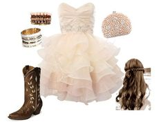 This is what I would wear to my prom it is so CUTE!!