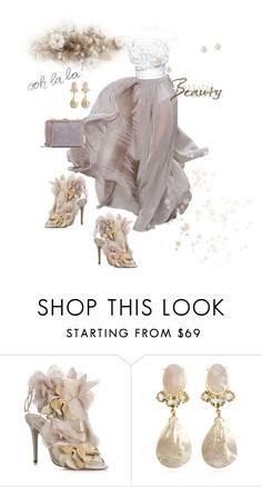 """""""Untitled #477"""" by belinda54-1 ❤ liked on Polyvore featuring Stephane Rolland, Valentino and ESPRIT"""