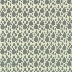 Items similar to Little Things Organic Rainy Day Grey on Cream Rain Drop designed by Arrin Turnmire of Little Figs for Moda on Etsy Vintage Sports Nursery, Stop The Rain, Fabulous Fabrics, Modern Fabric, Drops Design, Pink Fabric, Rain Drops, Little Things, Background Patterns