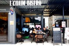 L'Chaim Bistro is one of seven container restaurants opened at Seed@Social Innovation Park. - Singapore