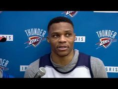 Russell Westbrook Pregame Interview |Jazz vs Thunder |February 28. 2017 ...