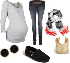 """""""Pregnant Day Off."""" by tbombay on Polyvore"""