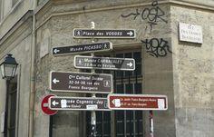 Le Marais  rue des Francs Bourgeois