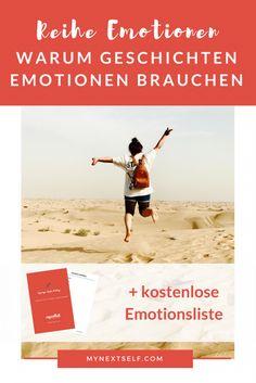 Warum Geschichten Emotionen brauchen, Emotional schreiben, Kreatives schreiben
