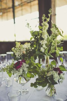 Botanical Barn Wedding ~ Adornments Flowers and Finery - www.adornmentsflowers.com // Dana Powers House and Barn Wedding // Sarah Kathleen Photography