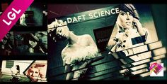"Daft ScienceThe ""DAFT SCIENCE"" template for after effects (CS 5.0 Full HD) comes with 10 media and 18 texts placeholders; duration: 1 minute 15 seconds. Dynamic, synced video with uplifting effects. Vintage grungy old movie look. No plug-in required, easy customization process, fast render process, included PDF help file, free fonts links and music link."