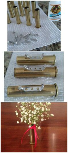 Ideas For Wedding Country Groomsmen Shotgun Shell Boutonniere – Famous Last Words Fall Wedding, Rustic Wedding, Our Wedding, Dream Wedding, Wedding Ideas, Wedding Stuff, Wedding Things, Wedding Pictures, Bullet Boutonniere