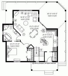 plano casa de campo una planta