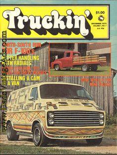 1975 December Truckin' Magazine Back-Issue