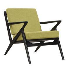 Jet Accent Chair LIME - BLACK - Apt2B - 1