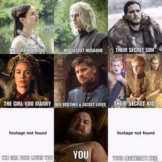 Sucks to be Robert Baratheon, Game of Thrones.