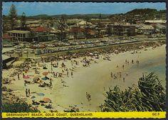 87s 1960'S 70'S PC OF Greenmount Beach Gold Coast Queensland Australia