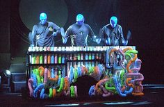 The Blue Man Group Show is a unique, and unforgettable experience. The show includes a mix of experimental music, comedy and multimedia. Oh and paint, lots of paint! Blue Man Group, Norwegian Epic, Experimental Music, Red Nosed Reindeer, 15th Birthday, Color Azul, Neon Colors, Music Is Life, Music Class