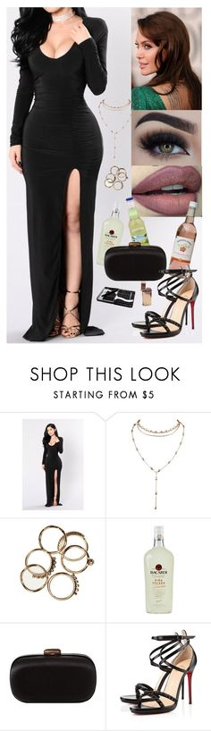"""""""Unbenannt #1141"""" by hermia-midsummers-dream ❤ liked on Polyvore featuring ANGELINA, Eyeko, Reyes, Lancel and Christian Louboutin"""