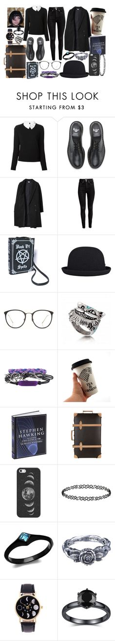 """""""we are going"""" by psycho-alien-deer05 ❤ liked on Polyvore featuring Carven, Dr. Martens, Les Prairies de Paris, H&M, kangol, Linda Farrow, Globe-Trotter, Casetify, Dorothy Perkins and momocreatura"""