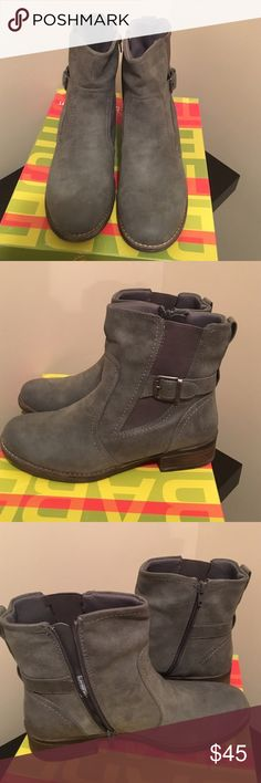 Bare Traps Tansy Boots Worn once. Excellent condition. Zip on side. Shoes Ankle Boots & Booties