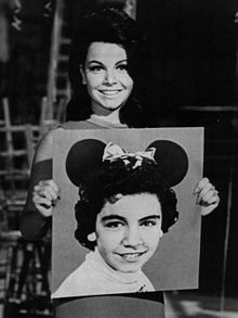 Annette Funicello Former Mouseketeer 1975. Born Oct. 22,1942 and passed away today, April 8,2013. May she rest in peace.